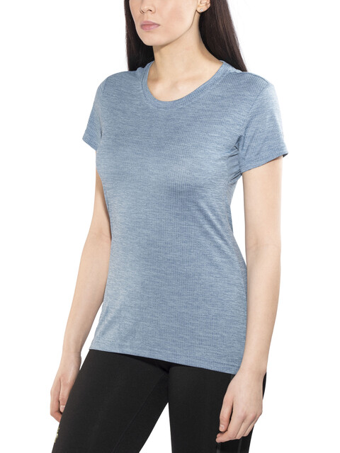 adidas TERREX Tivid - Camiseta Running Mujer - gris